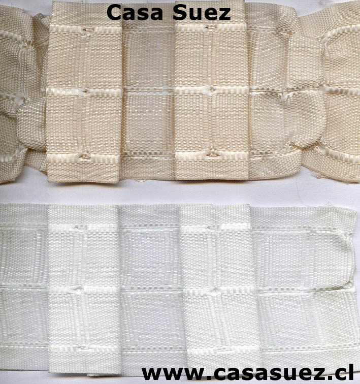 Accesorios cortinas casa suez for Como poner ganchos cortinas