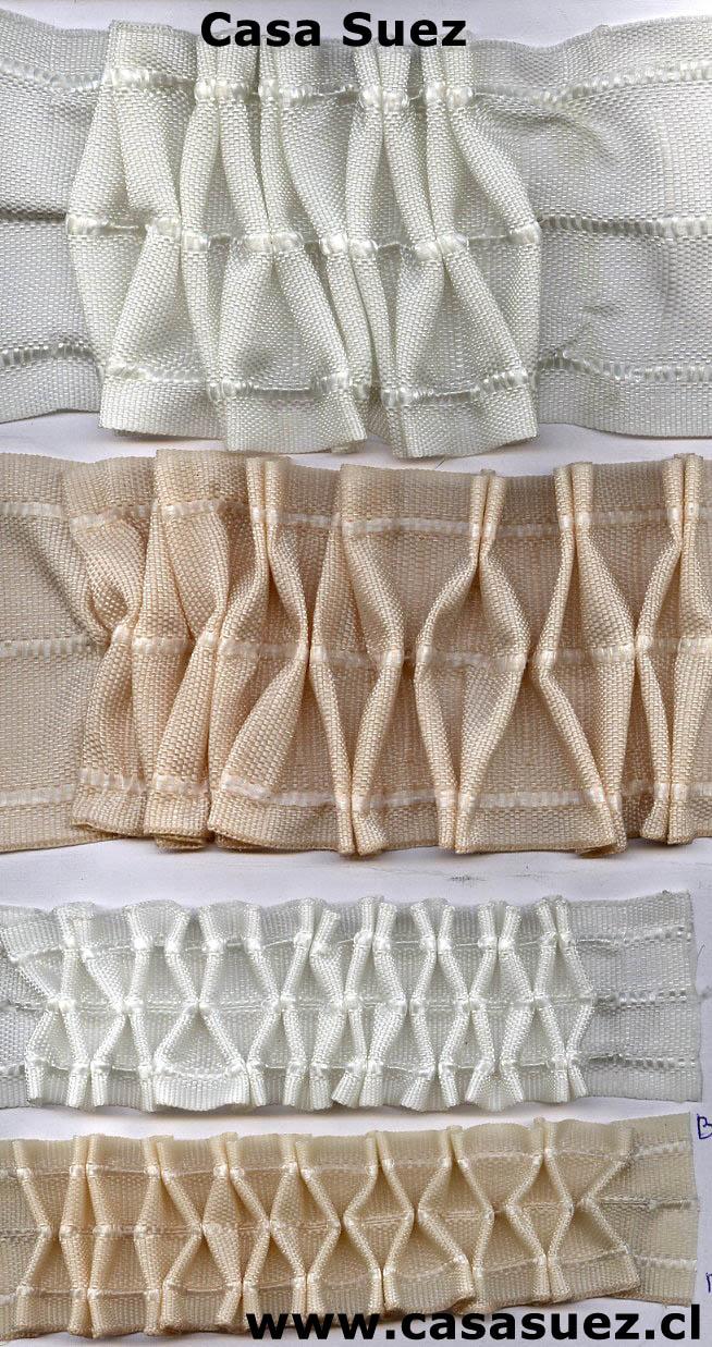 Accesorios cortinas casa suez for Ganchos de plastico para cortinas